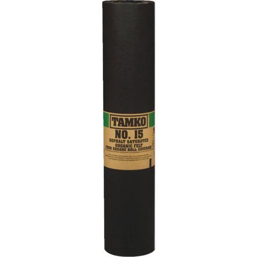 TAMKO 36 In. x 144 Ft. 15 lb Organic Mat, Asphalt Roof Felt