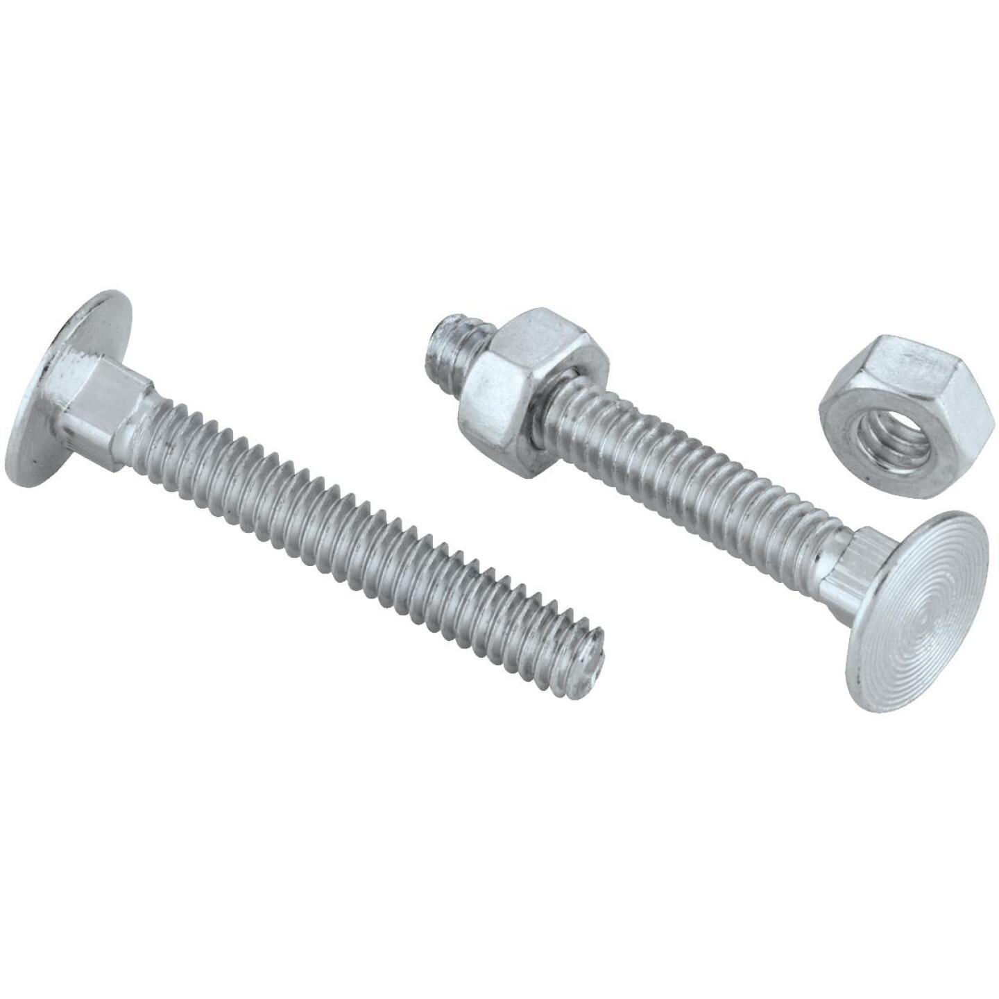 National 1/4 In. x 1-3/4 In. Zinc Carriage Bolt (12 Ct.) Image 3