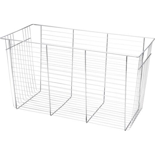 FreedomRail 6 In. Chrome Basket