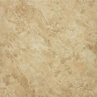 Home Impressions Sand Scape 12 In. x 12 In. Textured Vinyl Floor Tile (30 Sq. Ft./Box)