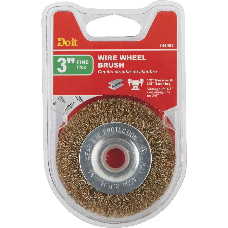 Do it 3 In. Fine Bench Grinder Wire Wheel Image 2