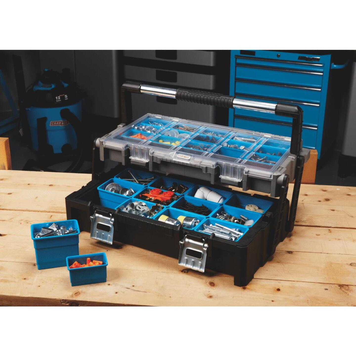 Channellock 22.5 In. Cantilever Parts Organizer Storage Box Image 3
