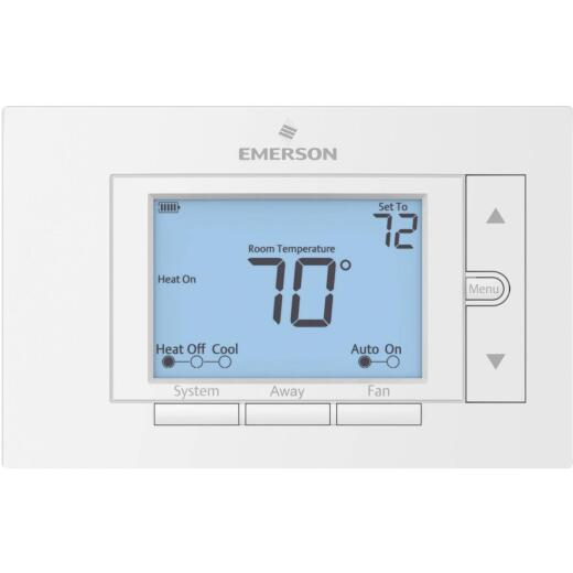 White Rodgers Universal Non-Programmable White Digital Thermostat
