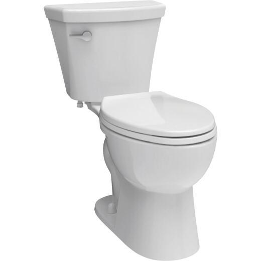 Delta Turner White Elongated Bowl 1.28 GPF Toilet