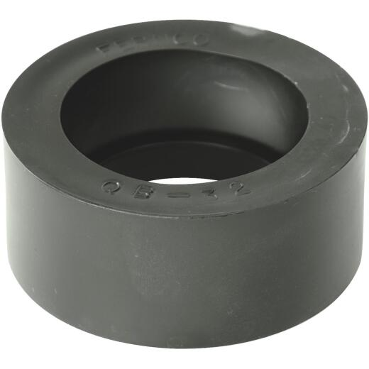 Fernco 3 In. x 2 In. PVC Sewer and Drain Bushing