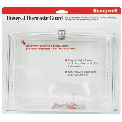 Honeywell Clear 9-3/4 In. 7-1/4 In. Thermostat Guard