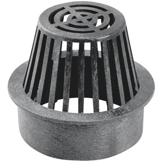 NDS 3 In. Black Structural Foam Polyethylene Atrium Grate