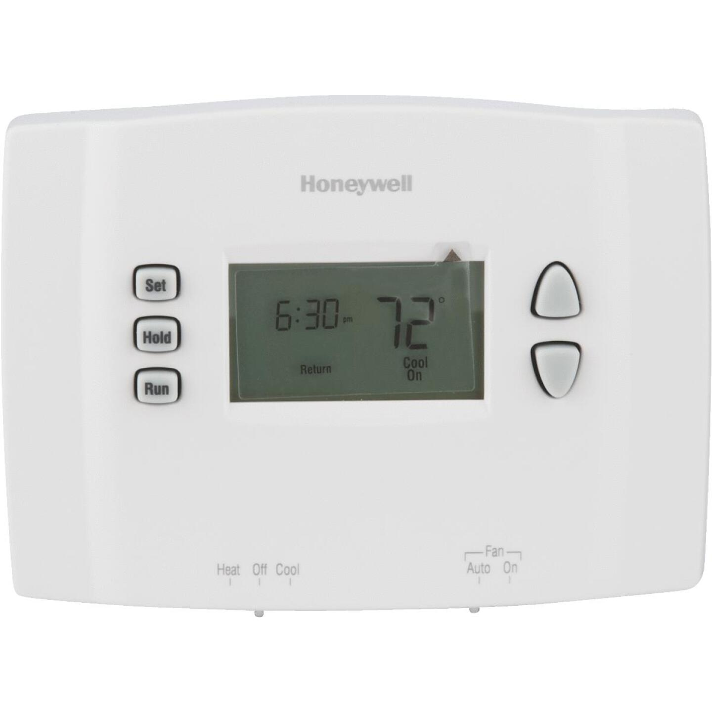 Honeywell 7-Day Programmable Off White Digital Thermostat Image 1