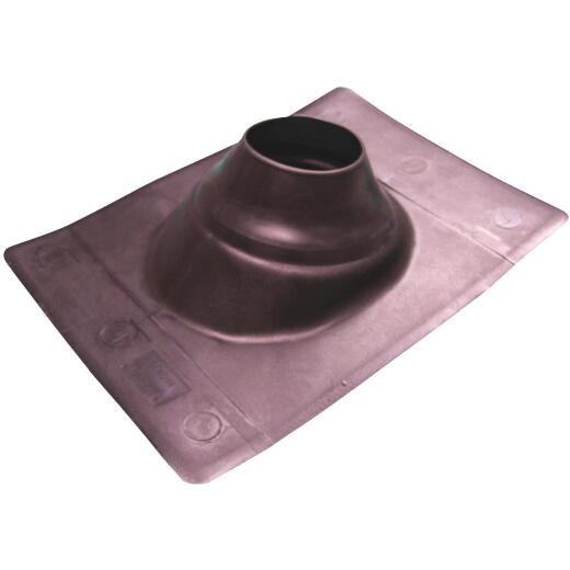 Genova Snap-Fit 4 In. Thermoplastic Roof Pipe Flashing