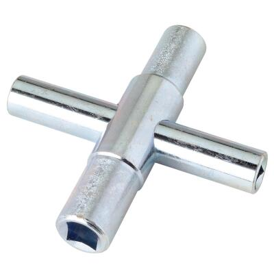 Cobra 4-Way Faucet Key for 1/4, 9/32, 5/16, 11/32 In. Stems