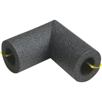 Tundra 3/8 In. Wall Self-Sealing Polyethylene Elbow Pipe Insulation Wrap, 1/2 In.