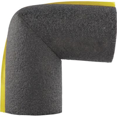 Tundra 3/8 In. Wall Self-Sealing Polyethylene Elbow Pipe Insulation Wrap, 3/4 In.