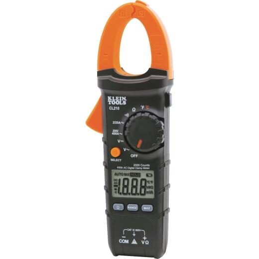 Klein 600V AC/DC Auto-Ranging Clamp Meter