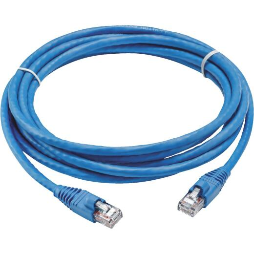 Leviton Blue 7 Ft. Network Patch Cable
