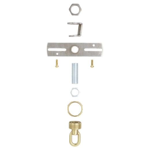Westinghouse Tapped 1/4 IP 35 Lb. Load Rating Brass Screw Collar Loop Kit