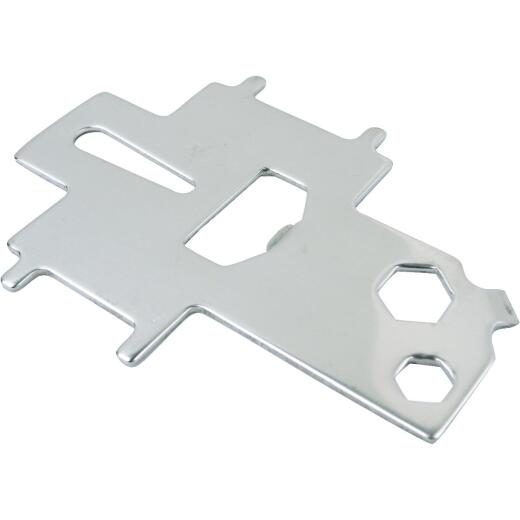Seachoice Non-Magnetic Stainless Steel 3-7/8 In. Deck Plate Key & Tool