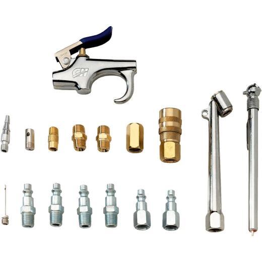 Campbell Hausfeld Air Compressor Accessory Kit, (17-Piece)