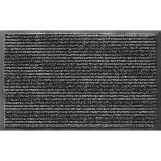 Apache Enviroback Onyx 36 In. x 60 In. Carpet/Recycled Rubber Door Mat
