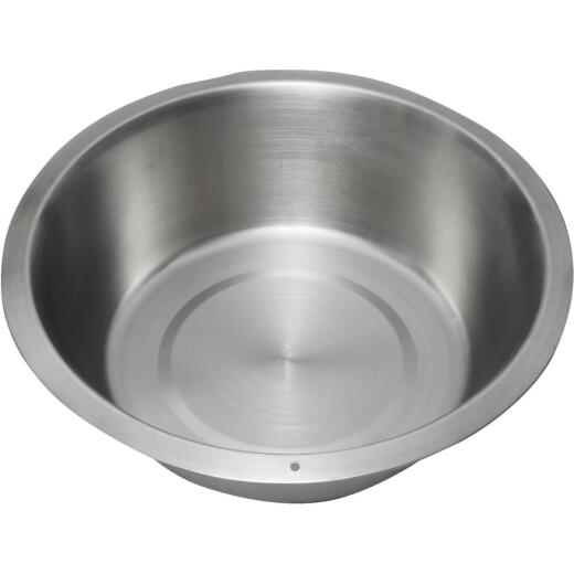 Lindy's 15 Qt. Stainless Steel Flat Bottom Dishpan