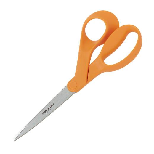 Fiskars 8 In. Multipurpose Stainless Steel Scissors