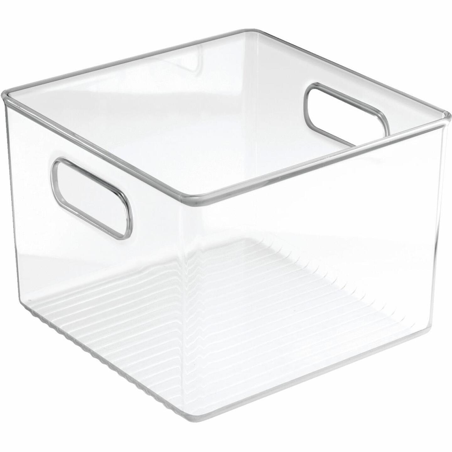 iDesign 8 In. W. x 8 In. D. x 6 In. H. Clear Fridge/Pantry Storage Binz Image 1