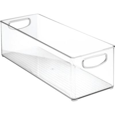 InterDesign 6 In. W. x 16 In. D. x 5 In. H. Clear Kitchen Bin