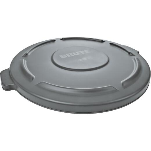 Rubbermaid Commercial Brute Gray Trash Can Lid for 10 Gal. Trash Can