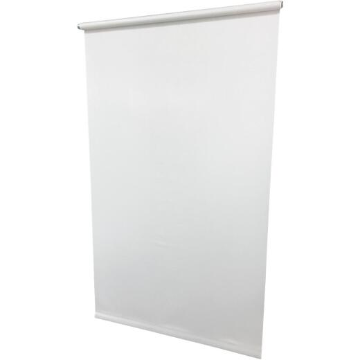Friedland Shades 55-1/4 In. x 78 In. White Medium Light Filtering Vinyl Roller Shade