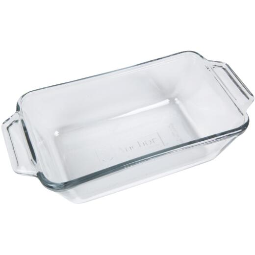 Anchor Hocking Oven Basics 1.5 Qt. 5 In. x 9 In. Glass Loaf Pan