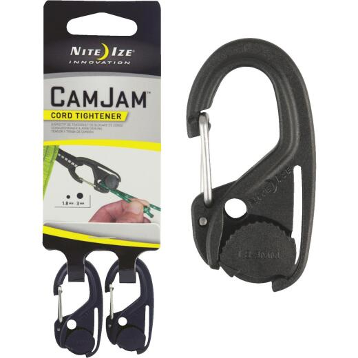 Nite Ize CamJam Plastic with Stainless Steel Gate Rope Tightener (2-Pack)