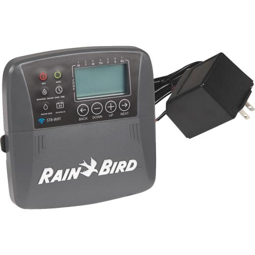 Rain Bird Smart Wi-Fi 8-Station Indoor Plug-In Water Timer