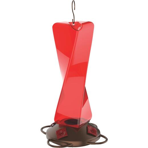 More Birds Mirage 20 Oz. Plastic Hummingbird Feeder
