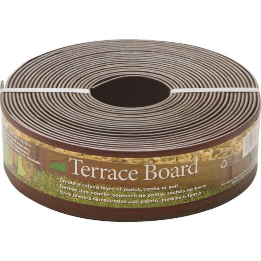 Master Mark 3 In. H. x 40 Ft. L. Brown Terrace Board Lawn Edging