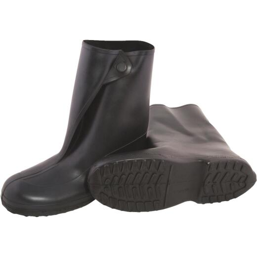 Tingley 10 In. Rubber Overshoe Boot, Men's Shoe Size 8 to 9.5