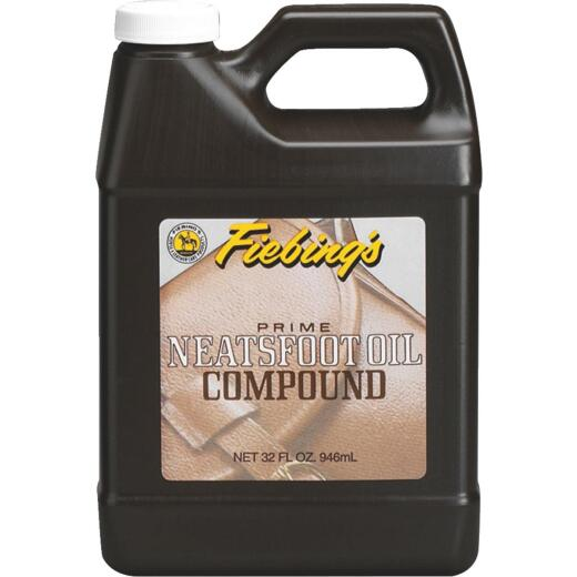 Fiebing's 32 Oz. Neatsfoot Prime Oil Compound Leather Care