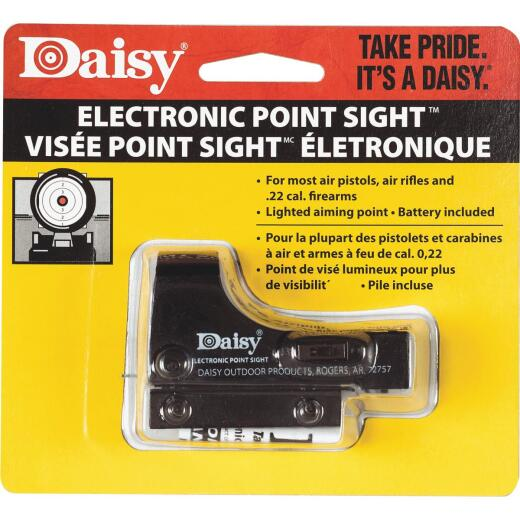 Daisy Dovetail Mount Black Electronic Airsoft Point Sight