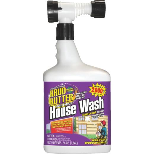 Krud Kutter Multi-Purpose House Wash Hose End Spray Concentrate, 56 Oz.