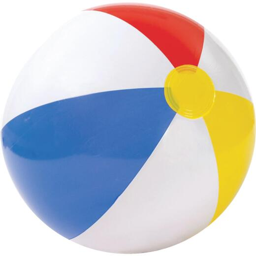 Intex 20 In. Glossy Colored Panel Beach Ball