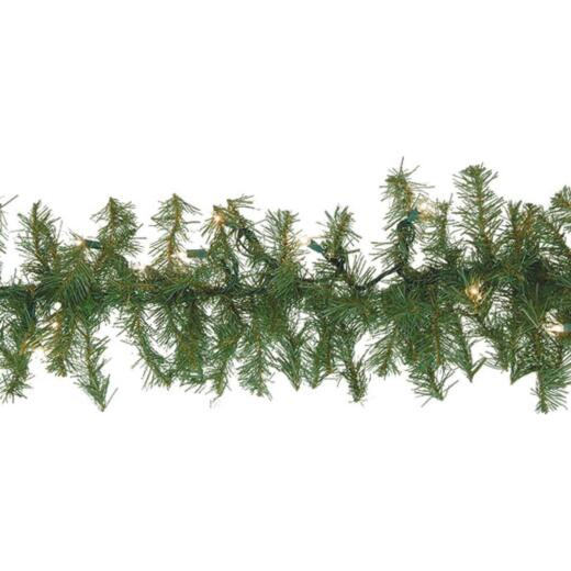 Gerson 9 Ft. Prelit Canadian Pine Garland