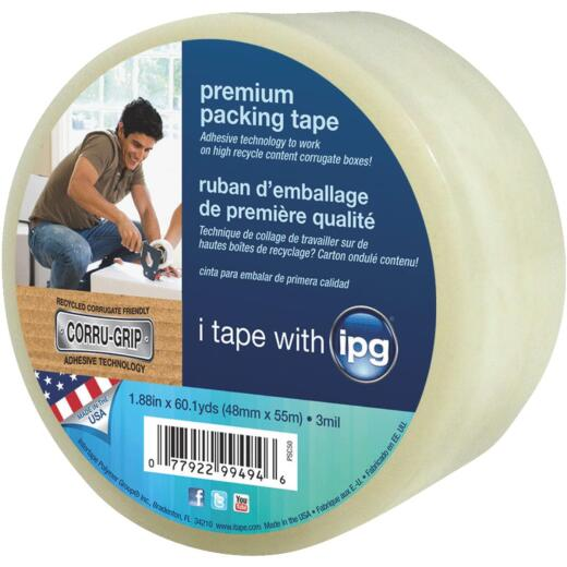 IPG 1.88 In. X 60.1 Yd. Premium Clear Packing Tape