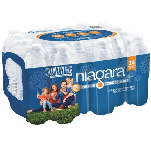 Niagara 0.5 Liter Bottled Purified Water (24-Pack)