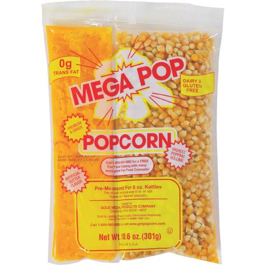 Gold Medal Mega Pop 8 Oz. Popcorn Kit (24 Kits)